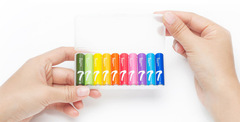 Алкалиновые батарейки Xiaomi ZMI Rainbow ZI7 АAA (10 шт.)