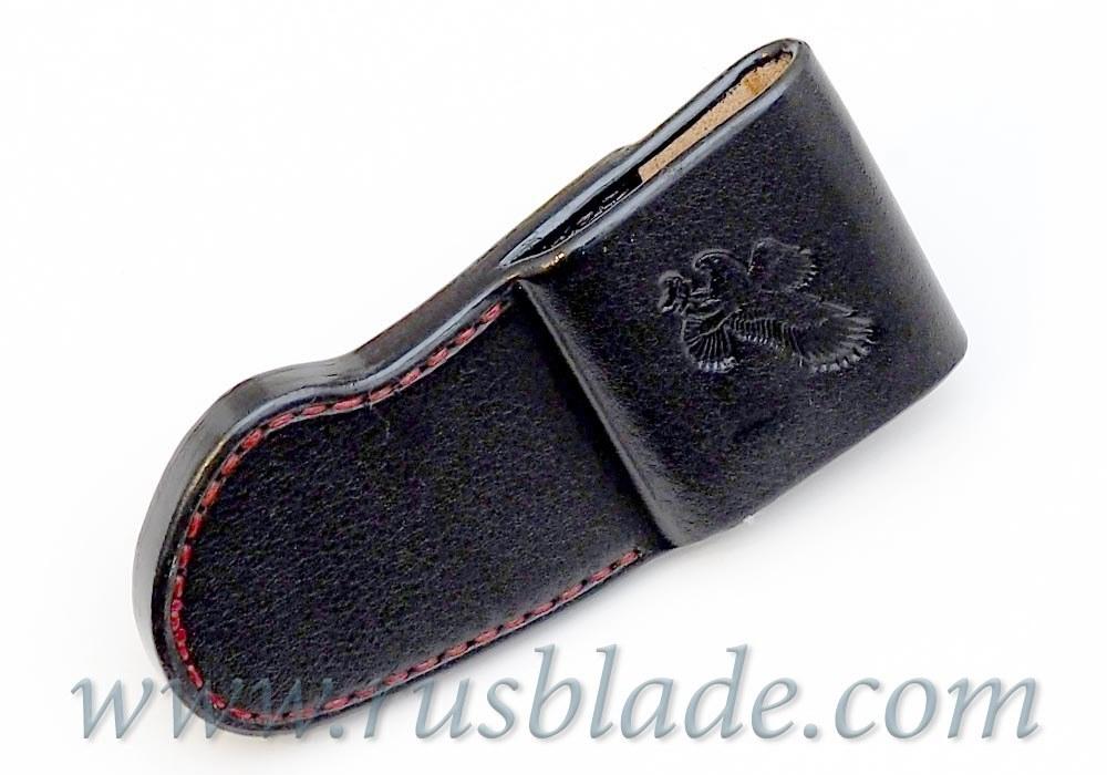 CUSTOM Handmade ZT 0454 Zero Tolerance 0454 Leather Sheath Black - фотография