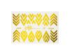 Фольга для дизайна ногтей цвет золото 39 купить за 120руб