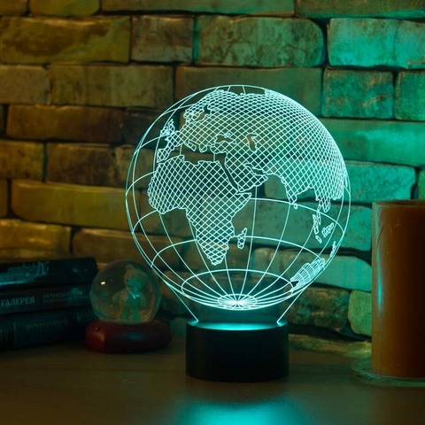 Ночник Европа (глобус)