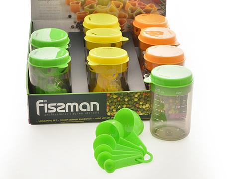 7526 FISSMAN Мерные емкости в наборе 8 пр,  купить