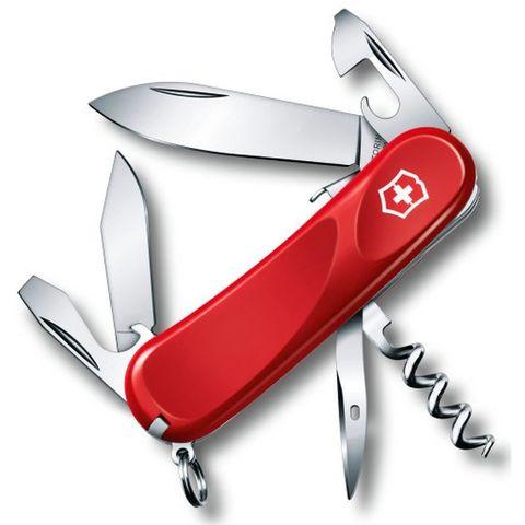 Нож перочинный Victorinox Evolution S101 (2.3603.SE) 85мм 12функций красный