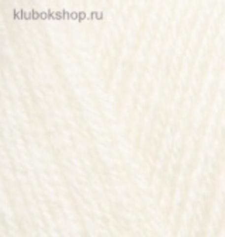 Alize Sekerim BEBE 62 Молочный - фото
