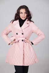 Куртка-пальто из плащевки Nadya