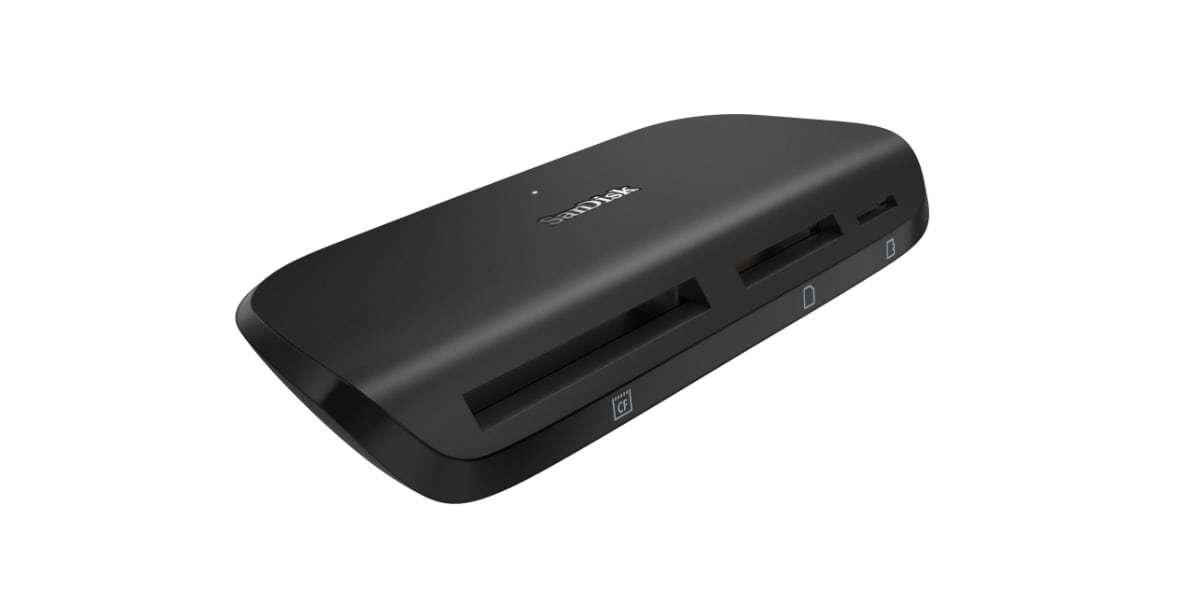 Устройство чтения/записи флеш карт SanDisk ImageMate Pro, SD/microSD/CompactFlash, USB 3.0