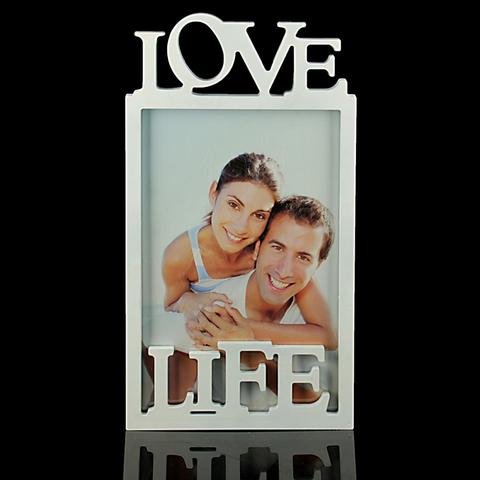 Фоторамка Love Life 35x21см