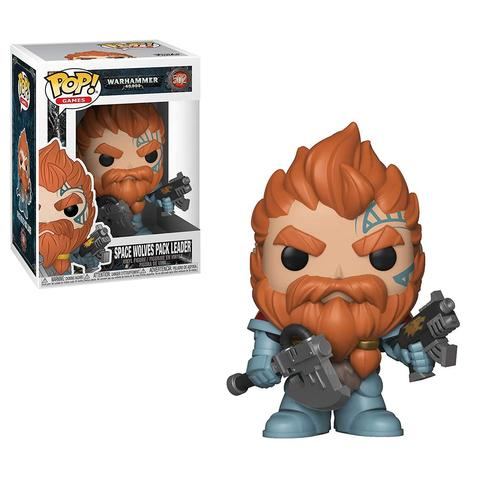 Фигурка Funko POP! Vinyl: Games: Warhammer 40K: Space Wolves Pack Leader 38327