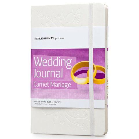 Блокнот Moleskine PASSION Wedding PHWD3A Large 130х210мм 228стр. твердая обложка белый