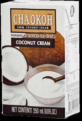 Chaokoh Кокосовые сливки, 250 мл