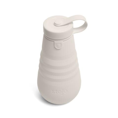 Бутылка складная силиконовая Stojo Bottle Oat, 20 oz / 590 мл