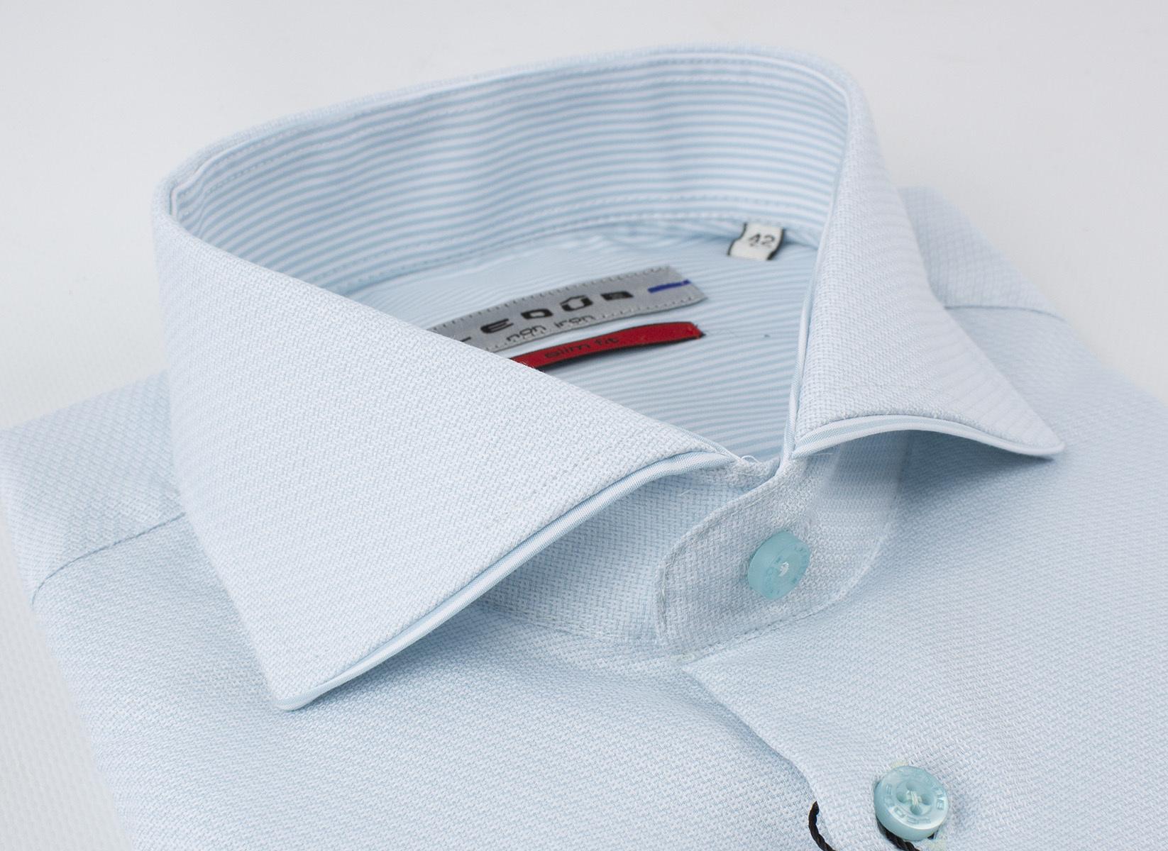 Рубашка Ledub slim fit 0136793-510-000-000-SF-Green