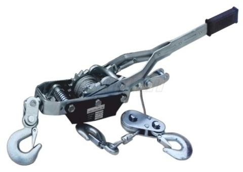 Лебедка рычажная гаражная SDB8020-1 2.0 т, канат 2,8 м, с двойным храповым механизмом