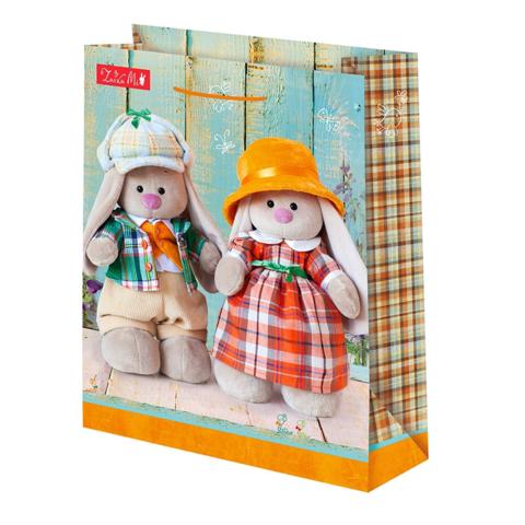 Подарочный пакет Зайка Ми Честер (средний)