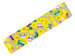 Тейпы для детей BBTape KIDS 5см*5м машинки желтый, Bbalance Корея