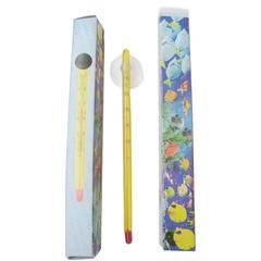 Термометр внутренний желтый