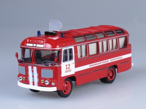 PAZ-672M firefighter Soviet Bus (SOVA) 1:43