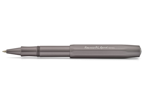 Ручка гелевая (роллер) AL Sport 0.7мм антрацитовый корпус