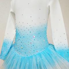 Платье для фигурного катания с градиентом