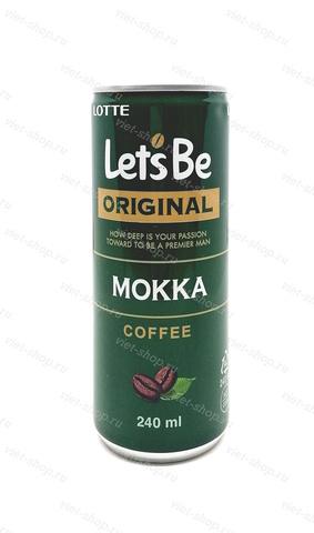 Напиток кофейный Let's be Mokka, Корея, 240 мл.