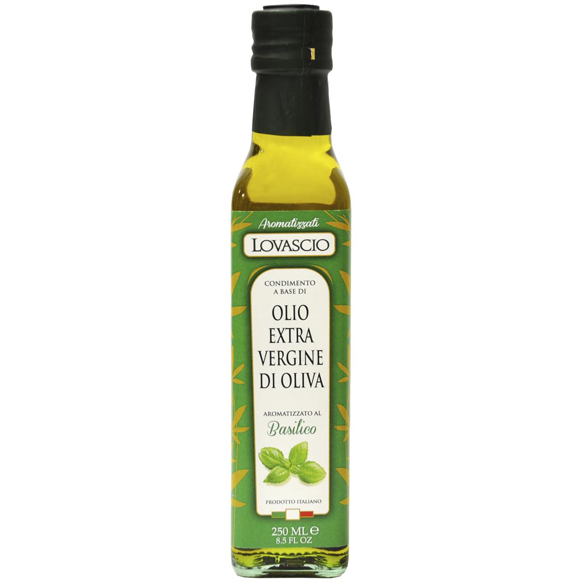 Масло оливковое EV с Базиликом Lovascio  100% Italiano  250 мл