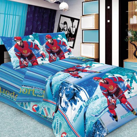 Комплект постельного белья Хоккей