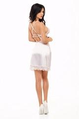 Эффектная эротическая сорочка Adelaide белая
