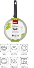 Сковорода-гриль с антипригарным покрытием Marmia, 26х26 см NADOBA