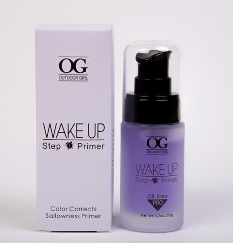 OG-FS5280 Праймер-основа для макияжа Mineral Primer, Purple фиолетовая, в стеклянной тубе