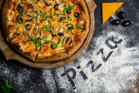 Пицца Чеддер с Кальмаром