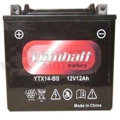 Аккумулятор VOMBATT YTX14-BS