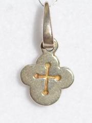 Крест  (кулон из серебра )