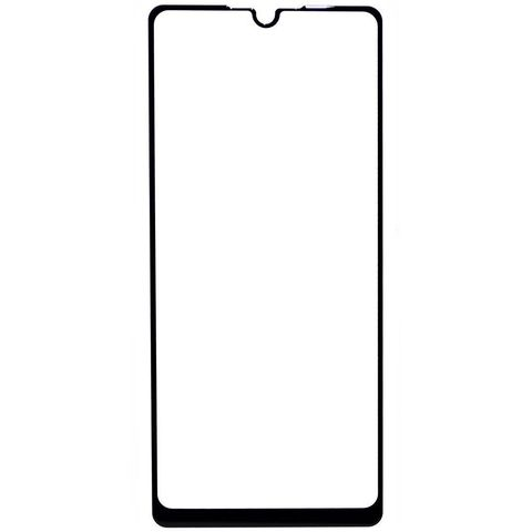 Защитное стекло для Samsung Galaxy A31 (SM-A315F) с черной рамкой 2,5D Full Glue