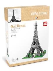 Конструктор Wisehawk & LNO Эйфелева башня 1184 детали NO. 2465 Eiffel Tower Gift Series