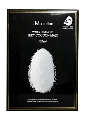 Тканевая маска с протеинами белого кокона  шелкопряда для упругости кожи JMsolution Water Luminous Cocoon Mask