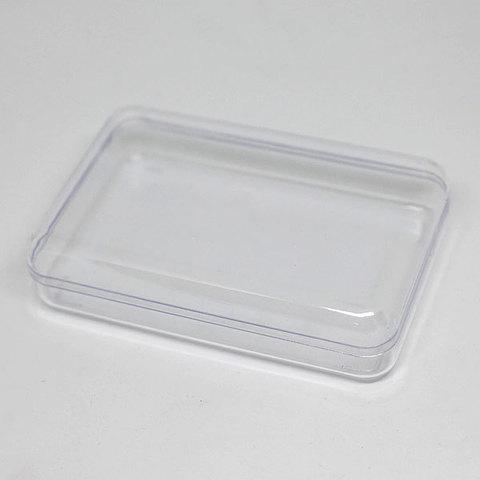 Коробка прямоугольная пластиковая для мыла