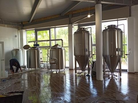 санкт петербург 500 л Пивоварня под ключ 500 л. Варочник.бойлер. охладитель. дробилка и 2 цкт 1000 л. 1480000 р