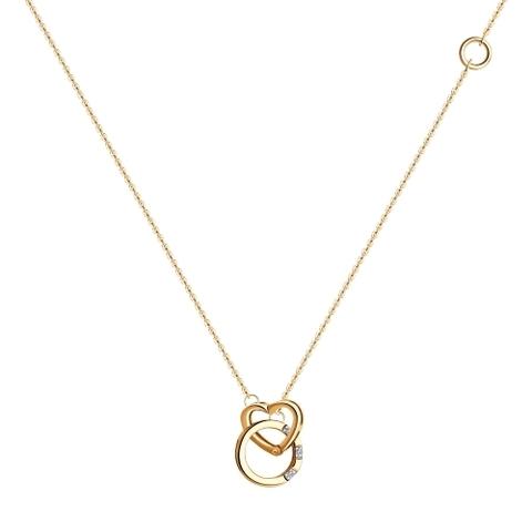1070094 - Колье из золота с бриллиантами