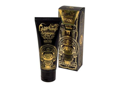 Маска-пленка золотая  Elizavecca Hell-pore longolongo gronique gold mask, 100мл