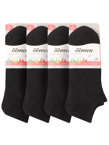 VN002-2 носки женские, черные 35-41 (12шт.)
