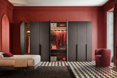 Шкаф с распашными /раздвижными  дверьми Cornice Pianca, Италия