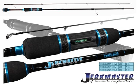 Спиннинг Metsui Jerk Master 632M 7-34 г.