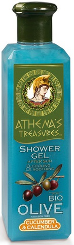 Успокаивающий гель для душа Athena's Treasures 250 мл