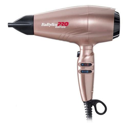 Профессиональный фен BaByliss Ultralight Rapido 2200 Вт розовый