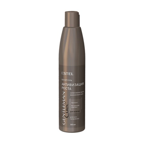 Шампунь активизирующий рост волос CUREX GENTLEMAN, 300 мл