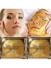 Омолаживающая гидрогелевая маска для лица с коллагеном Collagen Crystall Facial Mask (Золотая)