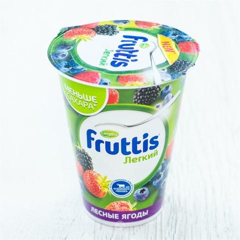 Йогурт FRUTTIS Легкий Лесные ягоды 310 гр Campina РОССИЯ
