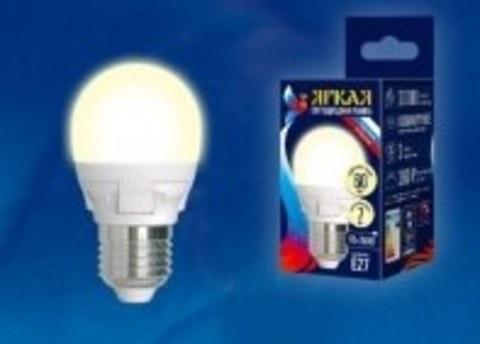 Лампа светодиодная 7W LED G45 3000К Е27
