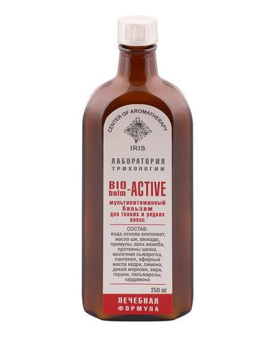 """Восстанавливающий бальзам для тонких и редких волос """"BIO-ACTIVE BALM"""", 250 мл"""