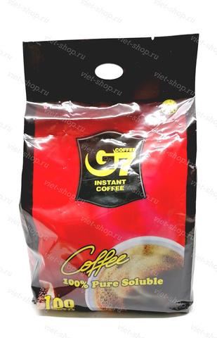 Вьетнамский растворимый кофе G7 Pure Black (черный), 100пак.