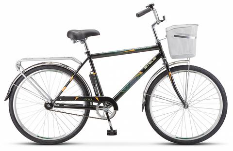 Дорожный велосипед Stels Navigator-200 Gent черный